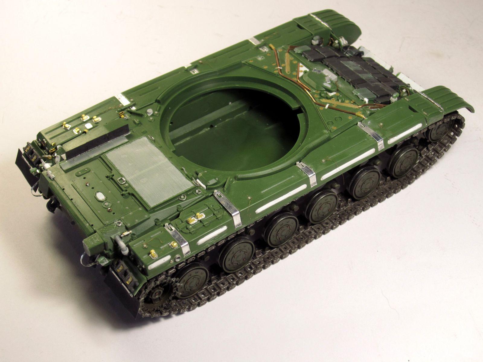 Т-64БВ - «окультуриваем» «СКИФ»  SKIF 1:35 №205  F02410