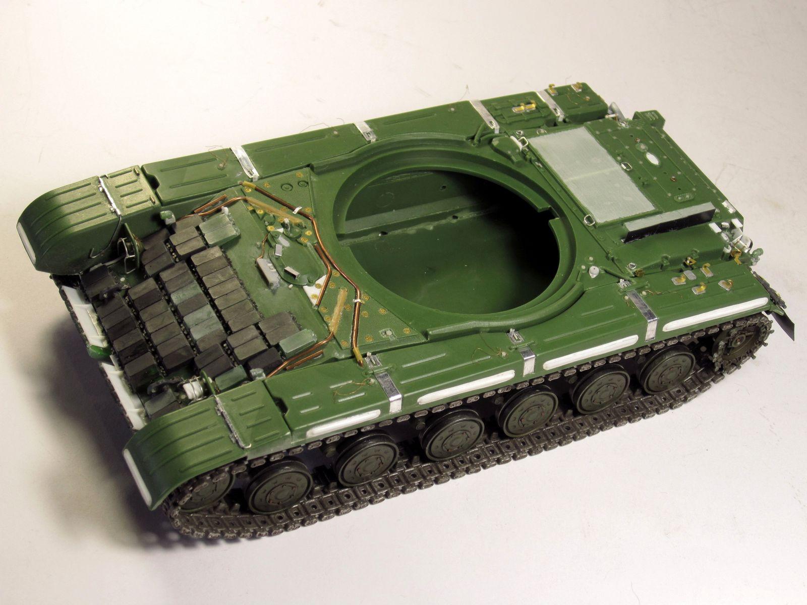 Т-64БВ - «окультуриваем» «СКИФ»  SKIF 1:35 №205  F02510