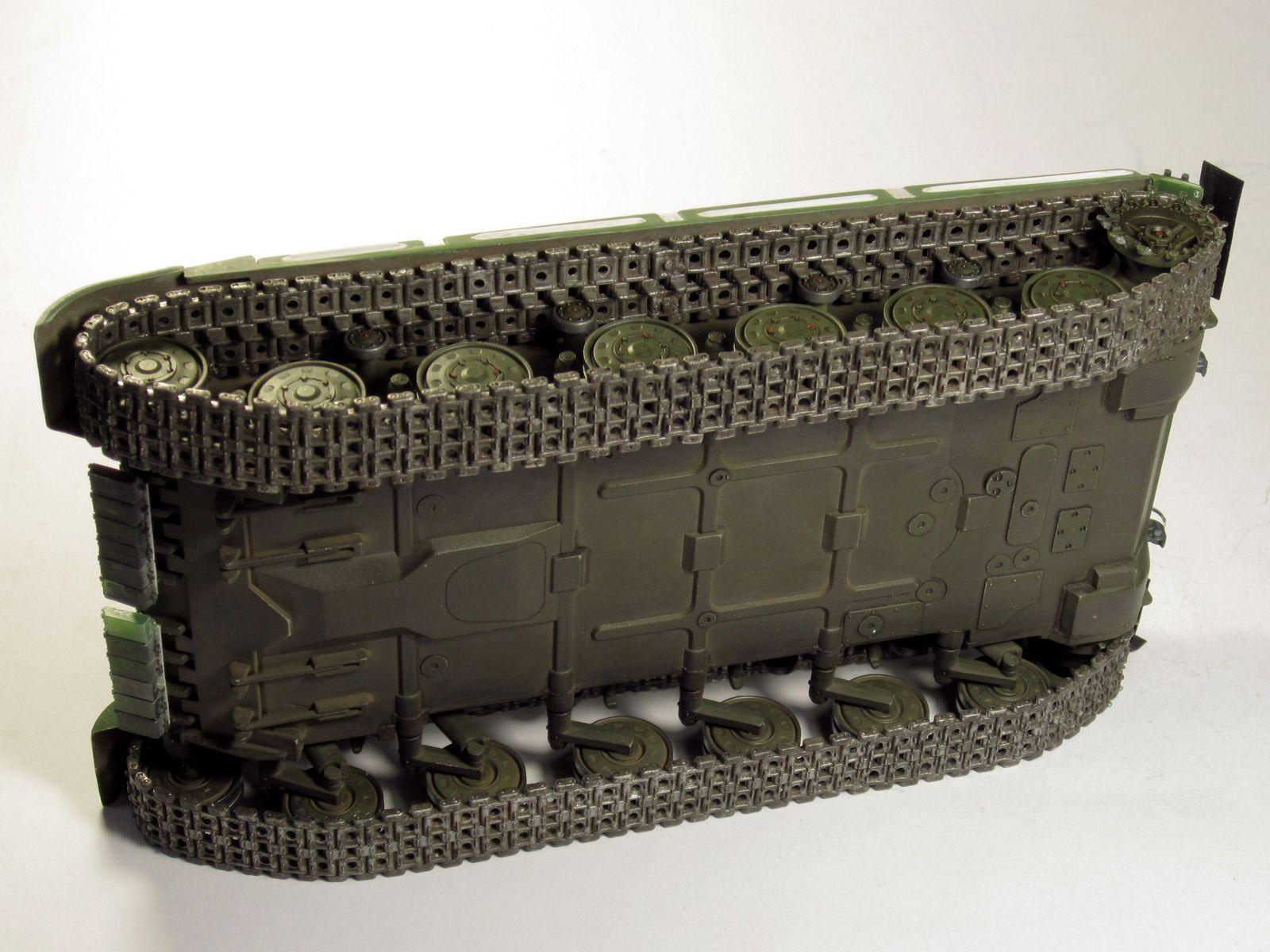 Т-64БВ - «окультуриваем» «СКИФ»  SKIF 1:35 №205  F02710