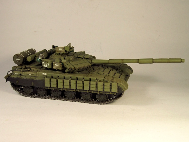 Т-64БВ - «окультуриваем» «СКИФ»  SKIF 1:35 №205  - Страница 3 Img_2110
