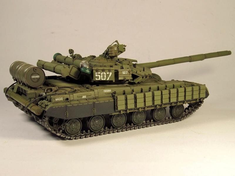 Т-64БВ - «окультуриваем» «СКИФ»  SKIF 1:35 №205  - Страница 3 Img_2113