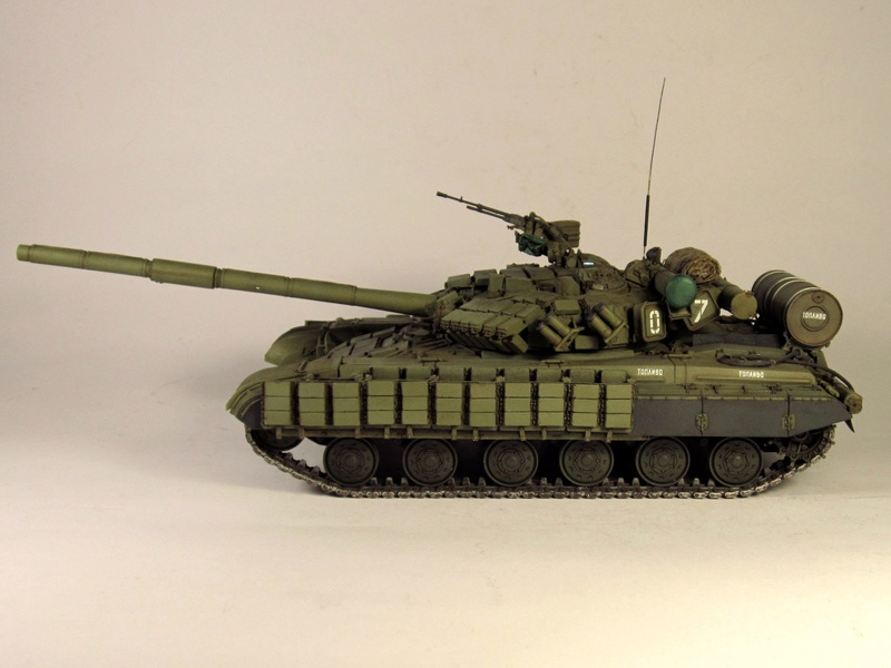 Т-64БВ - «окультуриваем» «СКИФ»  SKIF 1:35 №205  - Страница 3 Img_2118