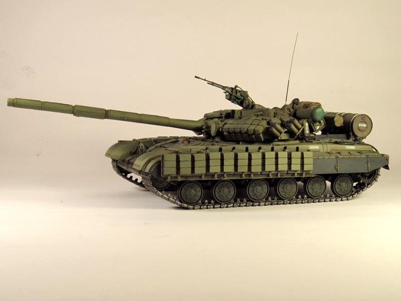 Т-64БВ - «окультуренный» «СКИФ»  SKIF 1:35 №205 Img_2125