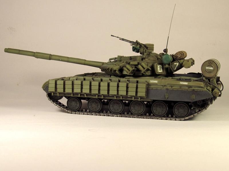 Т-64БВ - «окультуренный» «СКИФ»  SKIF 1:35 №205 Img_2126