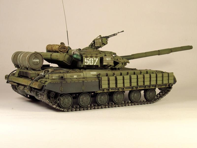 Т-64БВ - «окультуренный» «СКИФ»  SKIF 1:35 №205 Img_2128