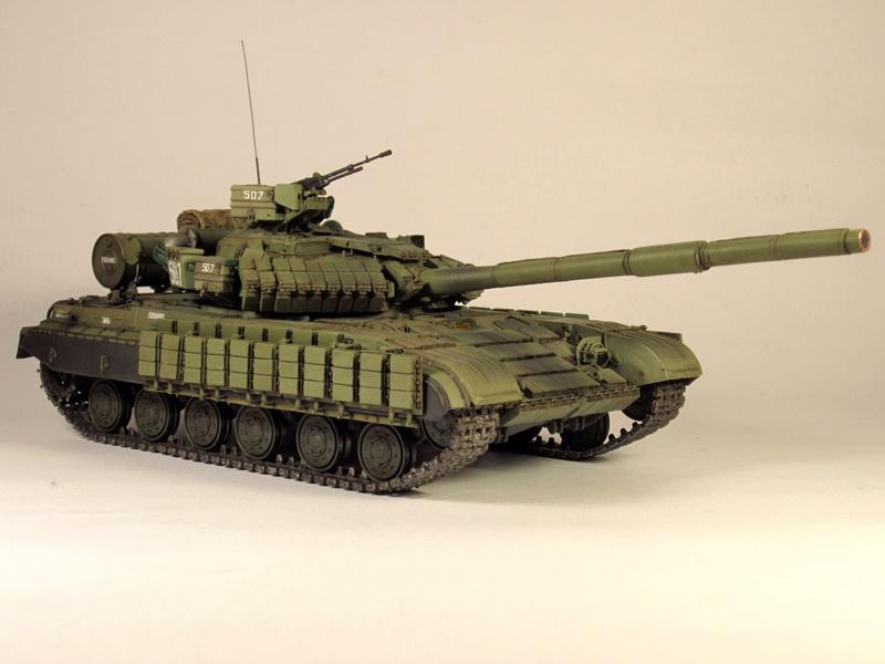 Т-64БВ - «окультуренный» «СКИФ»  SKIF 1:35 №205 Img_2129