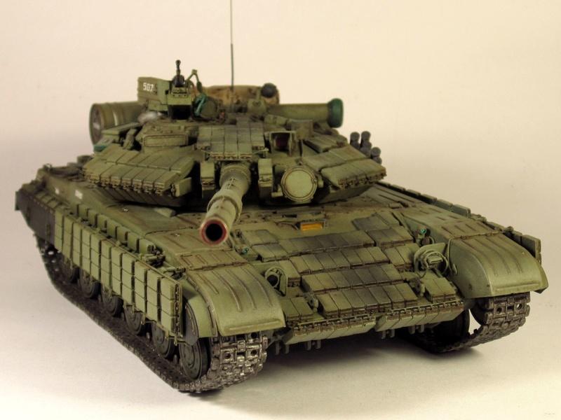 Т-64БВ - «окультуренный» «СКИФ»  SKIF 1:35 №205 Img_2130