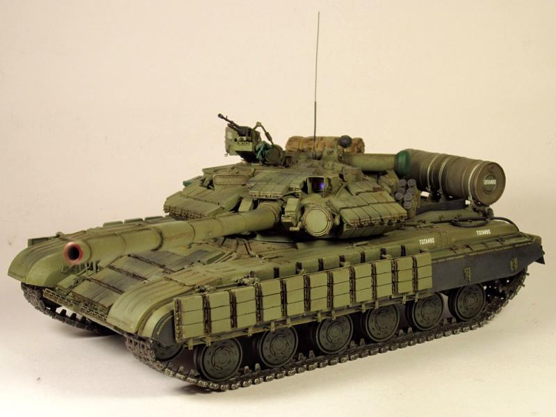 Т-64БВ - «окультуренный» «СКИФ»  SKIF 1:35 №205 Img_2131