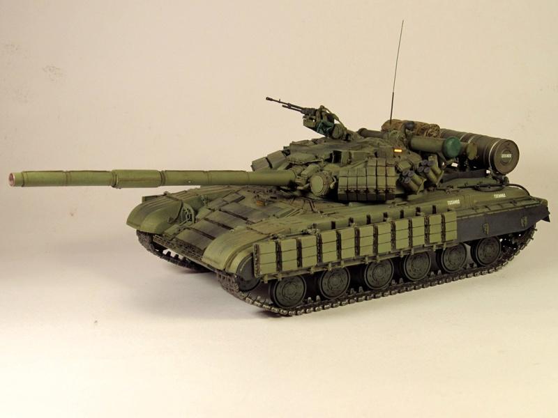 Т-64БВ - «окультуренный» «СКИФ»  SKIF 1:35 №205 Img_2132