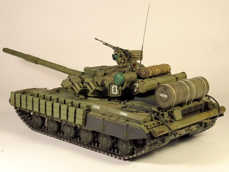 Т-64БВ - «окультуренный» «СКИФ»  SKIF 1:35 №205 Img_2133