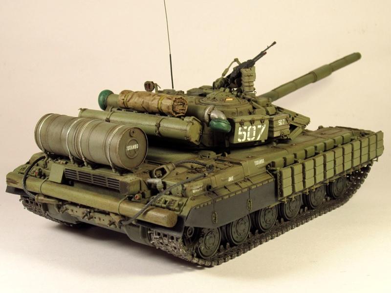 Т-64БВ - «окультуренный» «СКИФ»  SKIF 1:35 №205 Img_2134