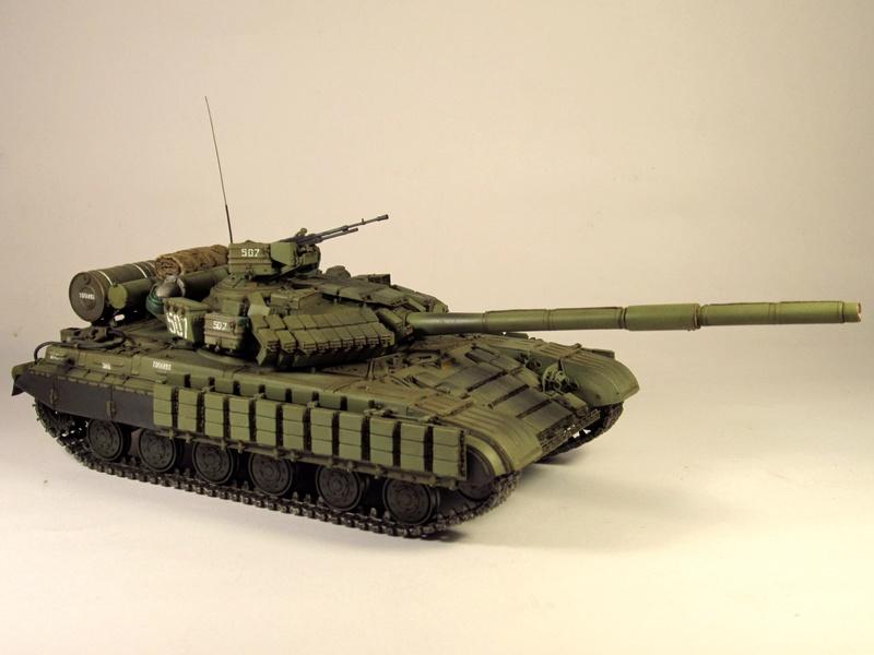Т-64БВ - «окультуренный» «СКИФ»  SKIF 1:35 №205 Img_2135