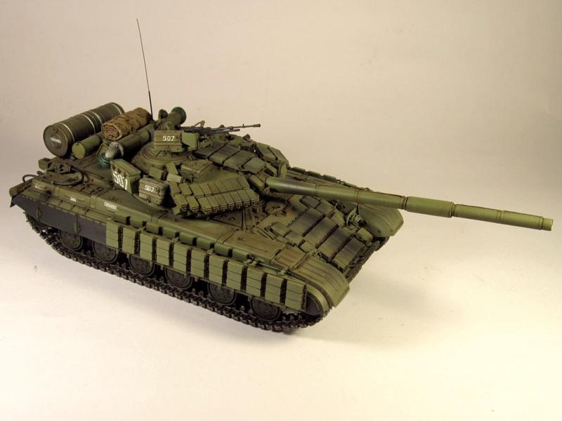Т-64БВ - «окультуренный» «СКИФ»  SKIF 1:35 №205 Img_2136