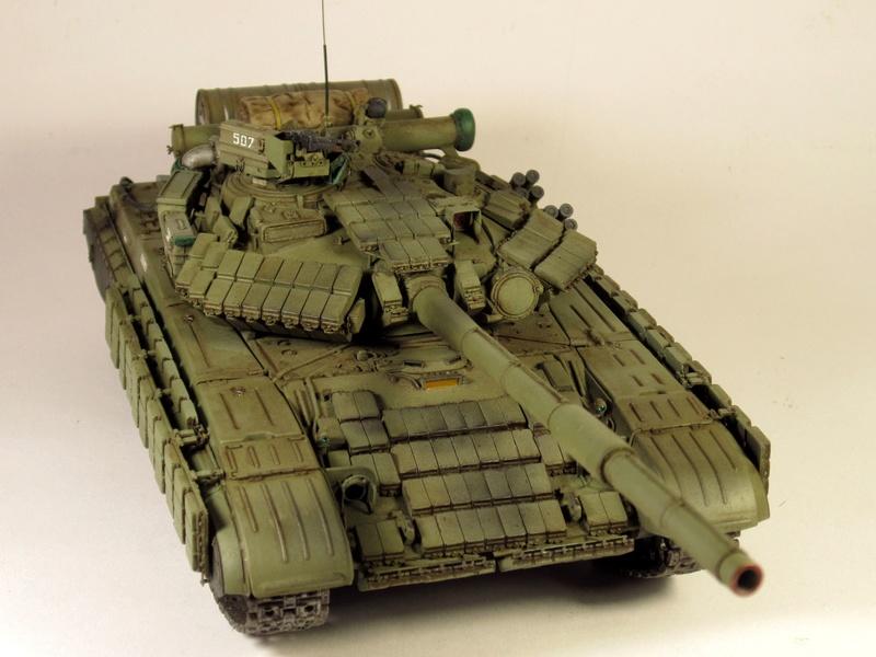 Т-64БВ - «окультуренный» «СКИФ»  SKIF 1:35 №205 Img_2137