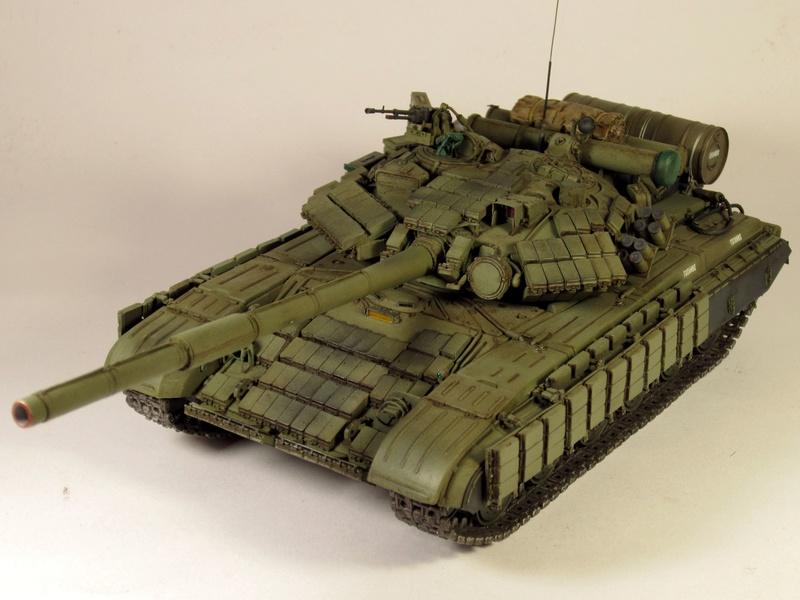 Т-64БВ - «окультуренный» «СКИФ»  SKIF 1:35 №205 Img_2138
