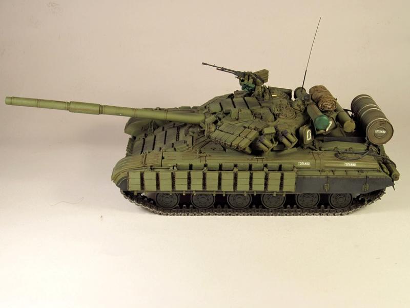 Т-64БВ - «окультуренный» «СКИФ»  SKIF 1:35 №205 Img_2139