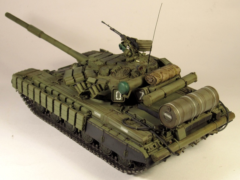 Т-64БВ - «окультуренный» «СКИФ»  SKIF 1:35 №205 Img_2140