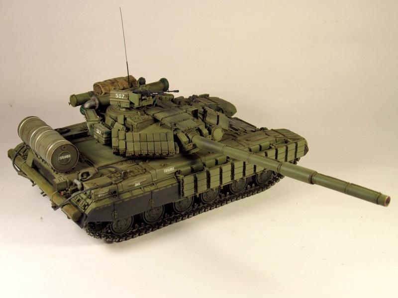 Т-64БВ - «окультуренный» «СКИФ»  SKIF 1:35 №205 Img_2142