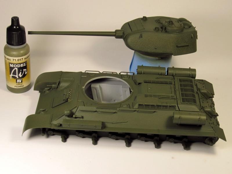 """Т-34/85 """"Мстители Донбасса"""" ГОТОВО Img_2349"""