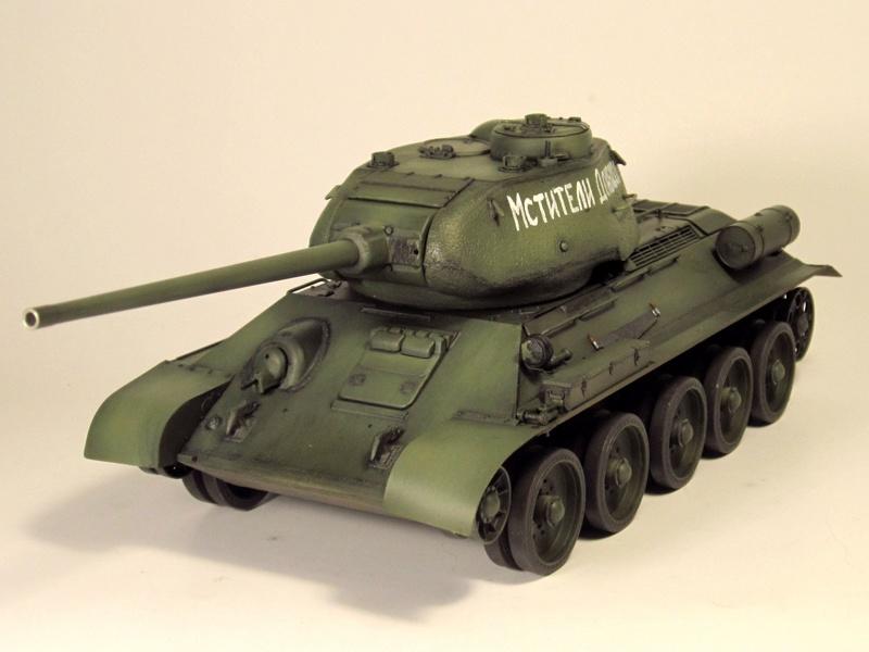"""Т-34/85 """"Мстители Донбасса"""" ГОТОВО Img_2353"""