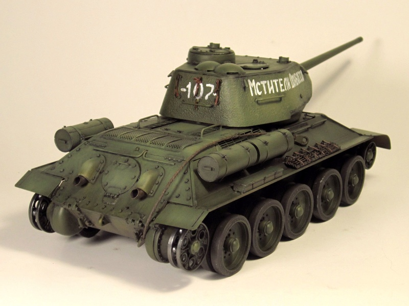 """Т-34/85 """"Мстители Донбасса"""" ГОТОВО Img_2355"""