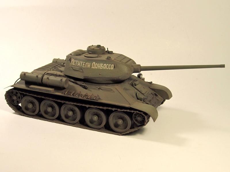 """Т-34/85 """"Мстители Донбасса"""" ГОТОВО Img_2358"""