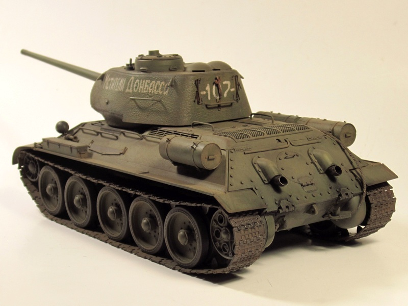 """Т-34/85 """"Мстители Донбасса"""" ГОТОВО Img_2360"""