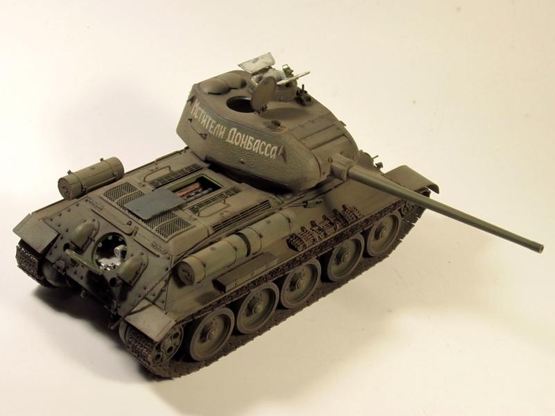 """Т-34/85 """"Мстители Донбасса"""" ГОТОВО Img_2362"""