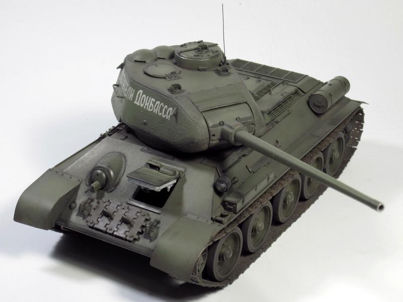 """Т-34/85 """"Мстители Донбасса"""" ГОТОВО Img_2415"""