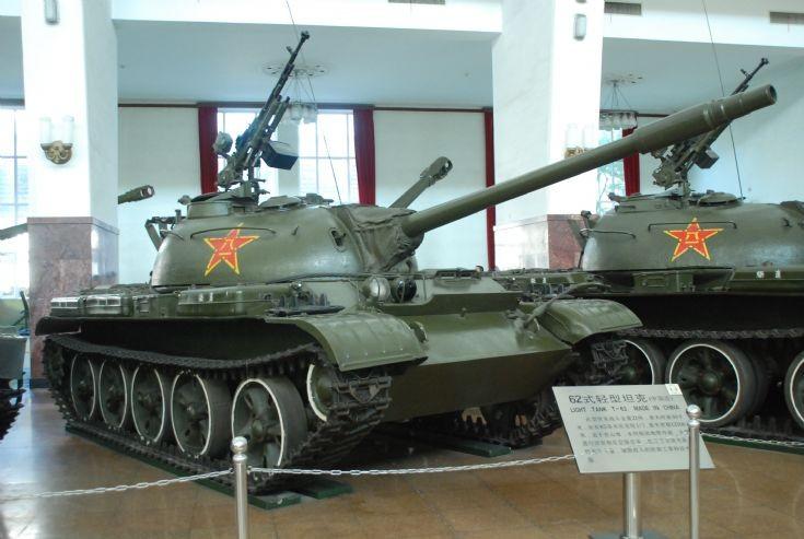 Type 62 (ZTZ-131)/ Trumpeter 1/35. Ztza3910