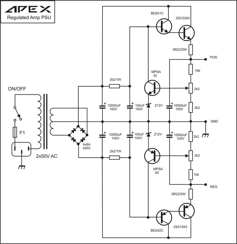 Como Reduzir Tensão de uma Fonte Simétrica Apex-r10