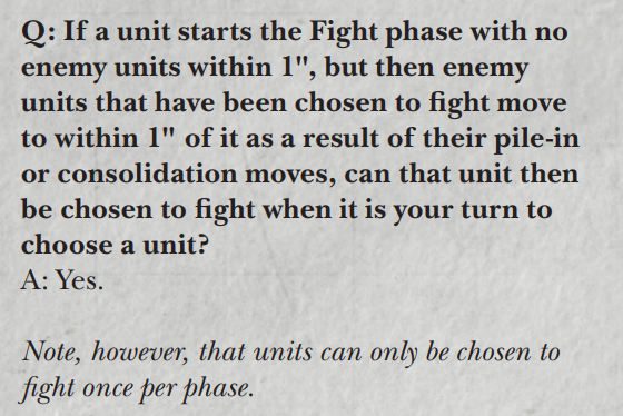 Fighting at the end of the fight phase. Screen10