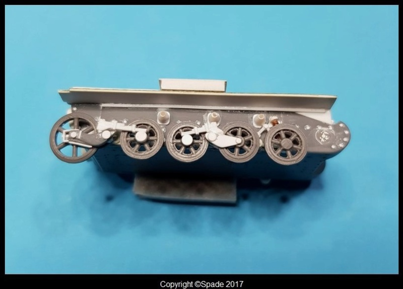 FlaKpanzer I Auf Panzer I Ausf. A - Scratch - Base S Models A411