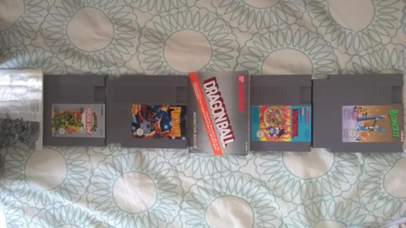 Estimation d'un lot de jeux vidéo NES Wp_20147