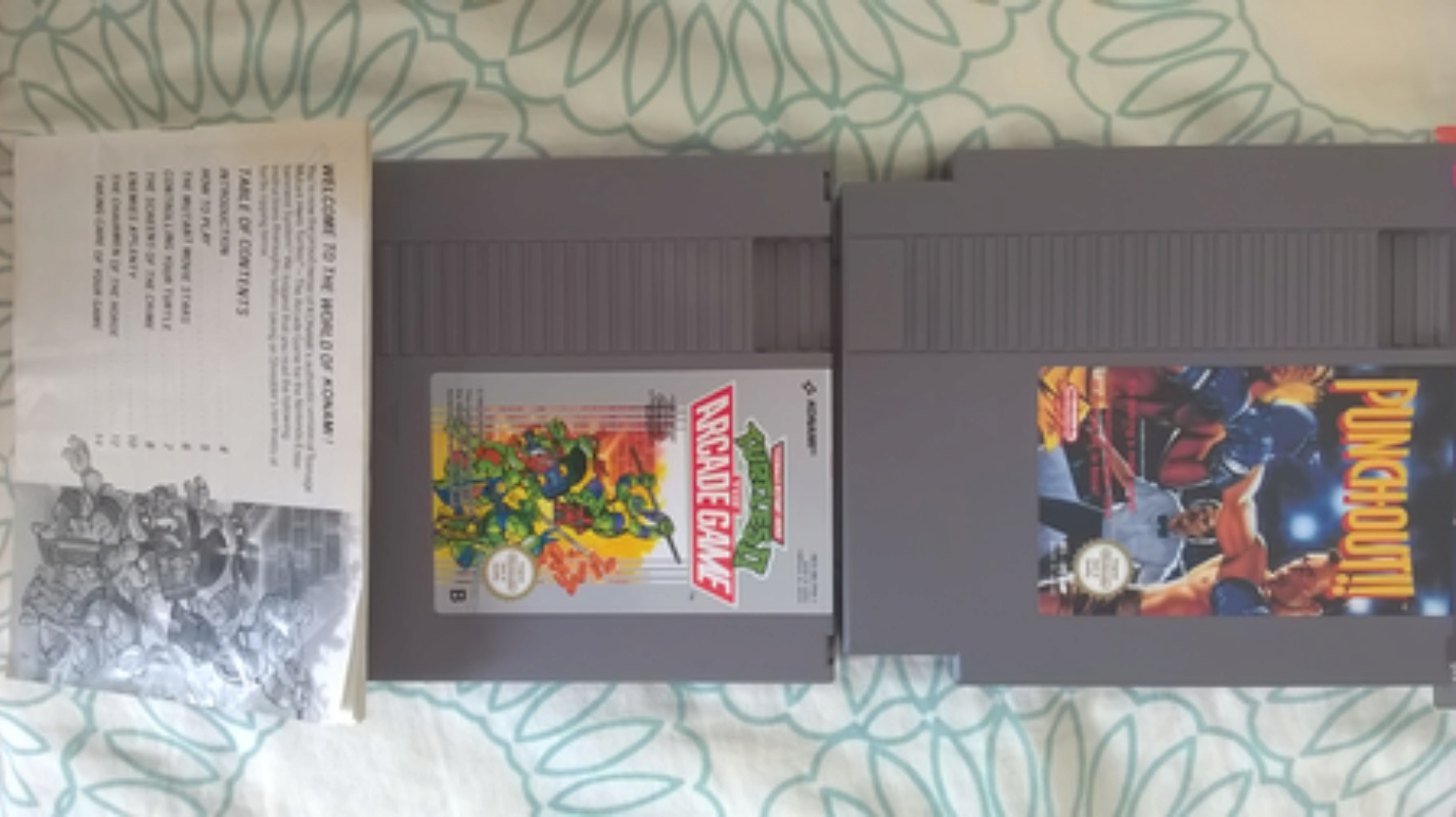 Estimation d'un lot de jeux vidéo NES Wp_20148