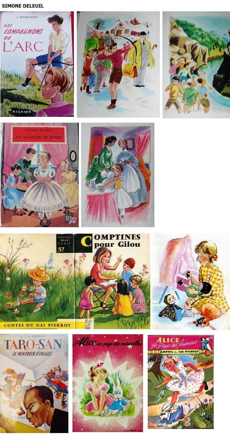 Les livres d'enfants avec bandeau.  - Page 2 Simone10