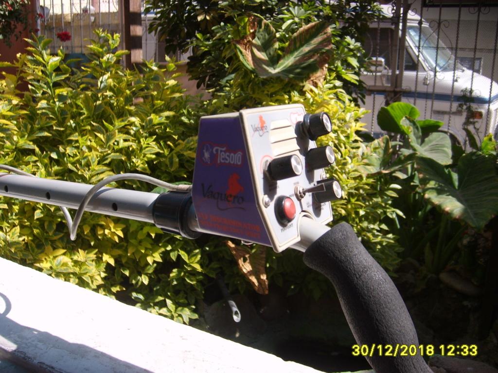 DETECTOR TESORO VAQUERO....en venta.. S6000012