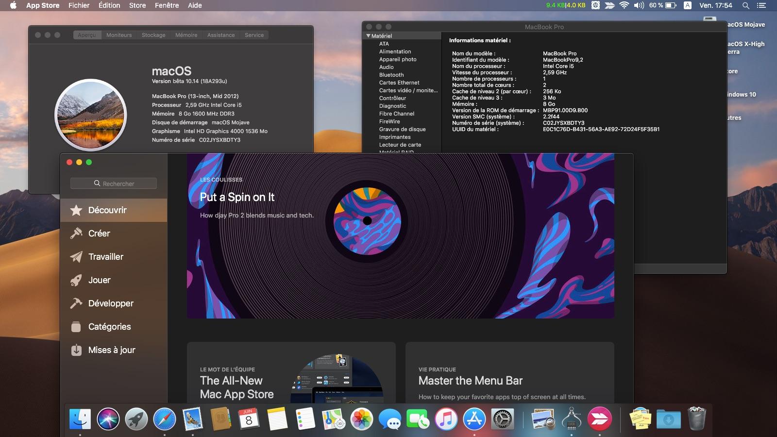 macOS Mojave 10.14 .Beta (Beta1, Beta2, Beta3, Beta4, Beta5, Beta6 . . .) Captur26