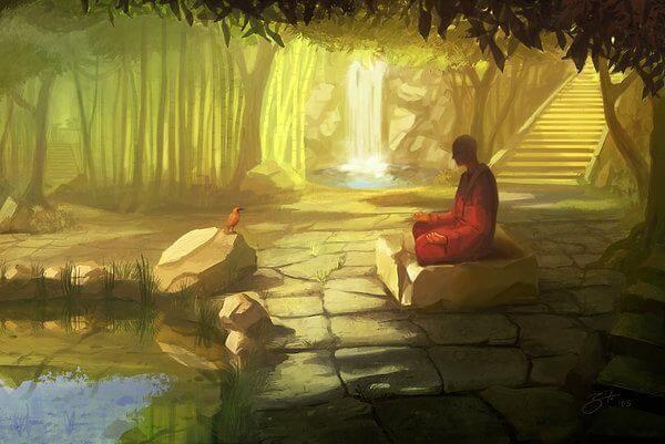 Kokoro del templo Oculto Monje-10