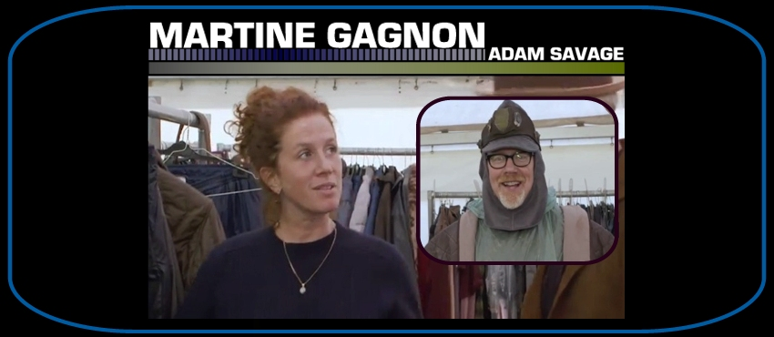 Martine Gagnon [Assist. Costume Designer] (2048 Prequel BTS Featurette) Mg10