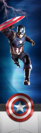 [WIP] TERMINE Mini pincab thème Captain América 2018-011