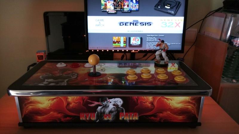 [TERMINÉ] Fabrication d'un stick arcade STREET FIGHTER V.  Img_2022