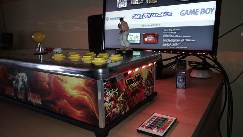 [TERMINÉ] Fabrication d'un stick arcade STREET FIGHTER V.  Img_2024