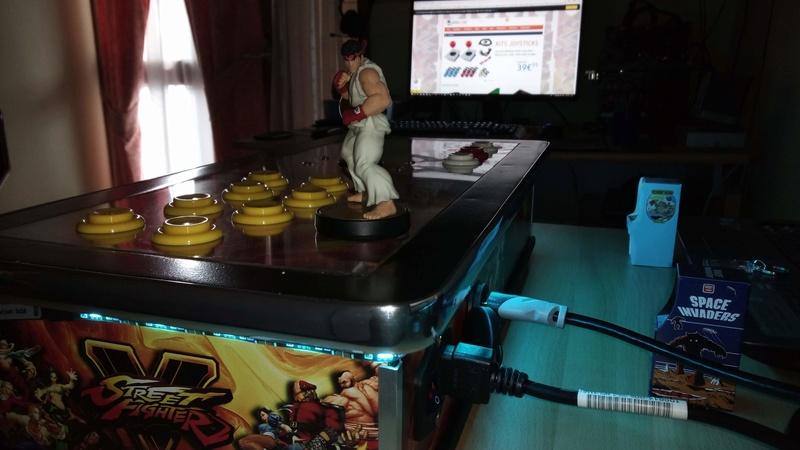 [TERMINÉ] Fabrication d'un stick arcade STREET FIGHTER V.  Img_2026