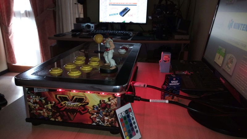 [TERMINÉ] Fabrication d'un stick arcade STREET FIGHTER V.  Img_2027