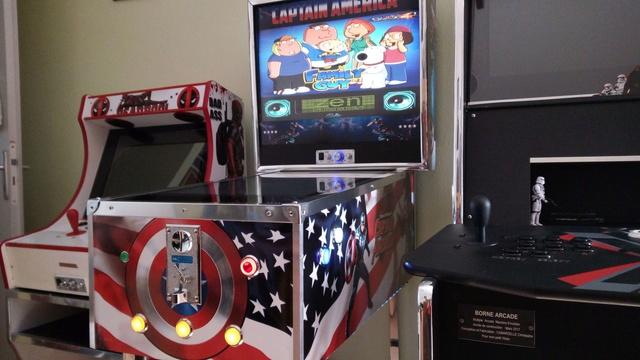 [WIP] TERMINE Mini pincab thème Captain América Img_2061