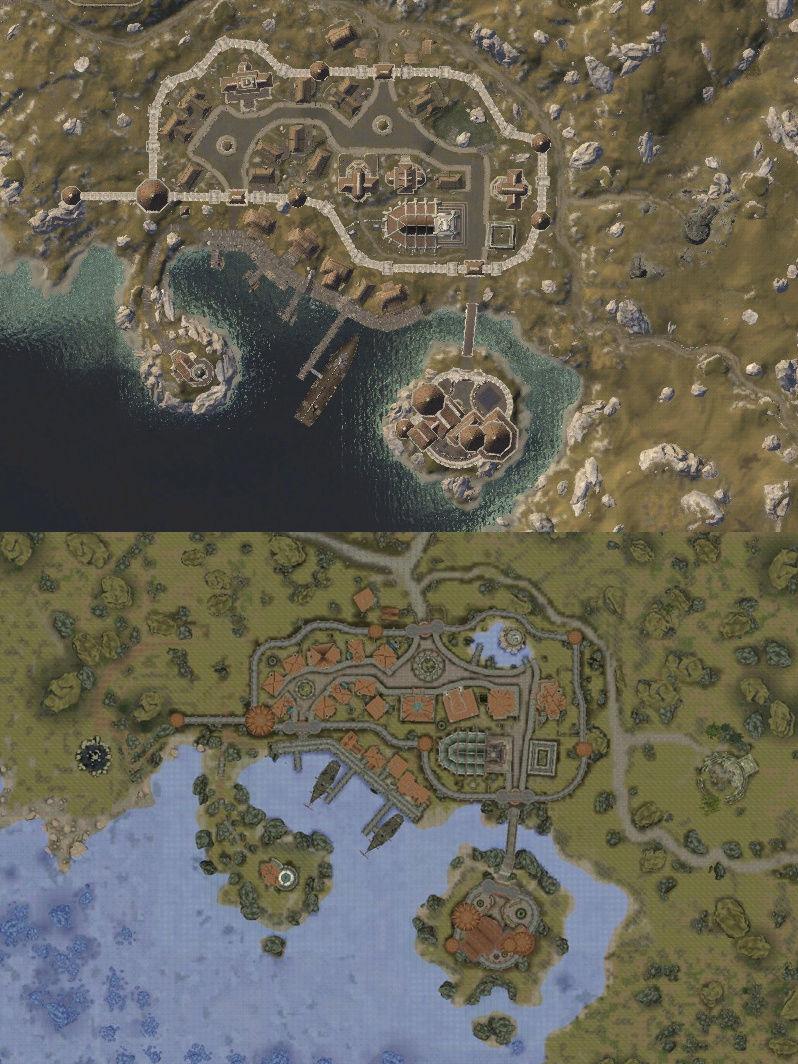 [Comparaisons] TES Online vs TES IV: Oblivion > Anvil & Kvatch Anvil_10