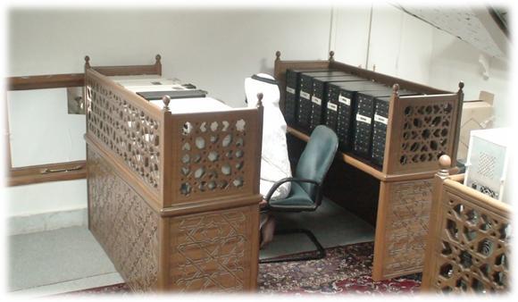 مكتبة المسجد النبوي 112