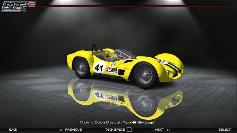 Maserati Tipo 60-61 ''Birdcage'' 157