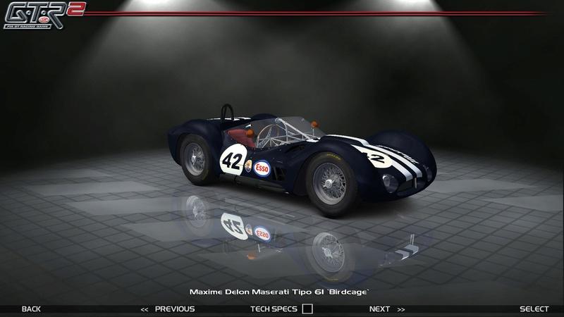 Maserati Tipo 60-61 ''Birdcage'' 255